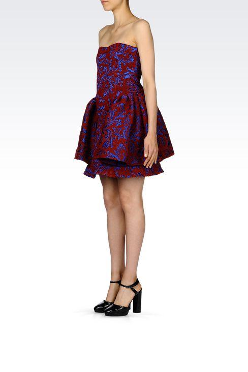 DAMASK RUNWAY DRESS: Short Dresses Women by Armani - 3