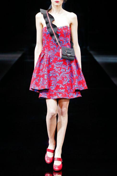 DAMASK RUNWAY DRESS: Short Dresses Women by Armani - 2