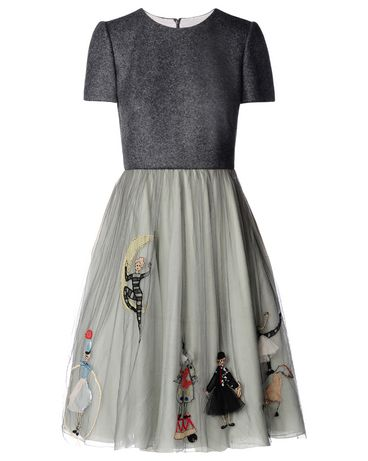 REDValentino Circus embroidered dress