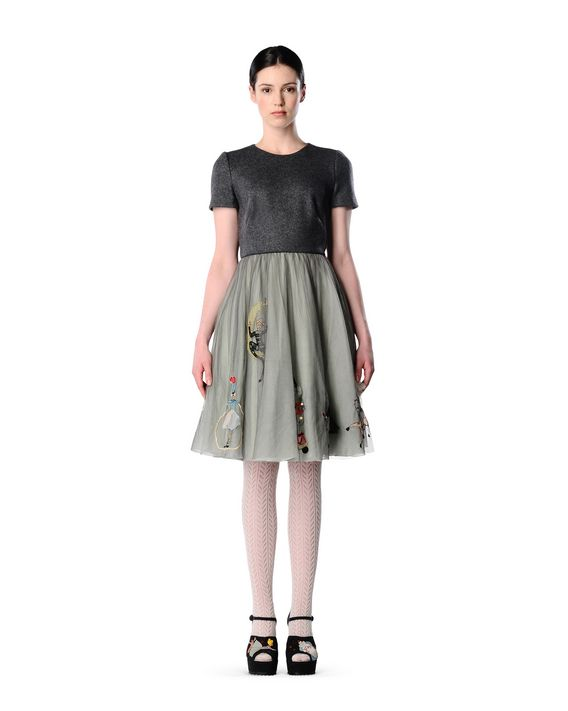 REDValentino JR0VA1M518L 080 Cocktail dress Woman d