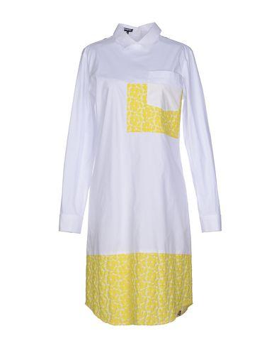 Платье до колена JIL SANDER NAVY 34558809VR