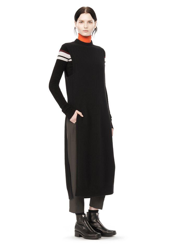 T by ALEXANDER WANG Long dresses Women CASHWOOL FLOOR LENGTH DICKIE