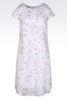 Armani Short Dresses Women dress in floral silk