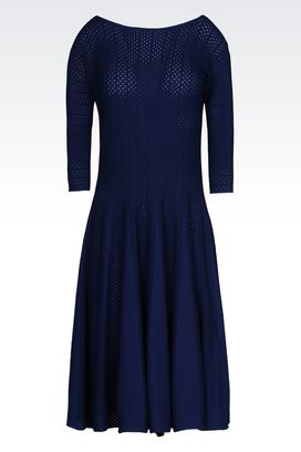Armani 3/4 Length Dresses Women dress in viscose blend