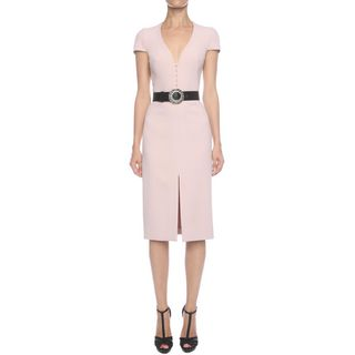 ALEXANDER MCQUEEN, Mid-length Dress, Hook Detail Pencil Dress
