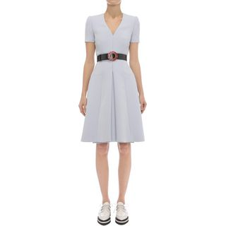 ALEXANDER MCQUEEN, Mini Dress, Box Pleat Dress