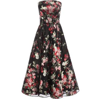 ALEXANDER MCQUEEN, Mid-length Dress, Fil Coupe Prom Dress