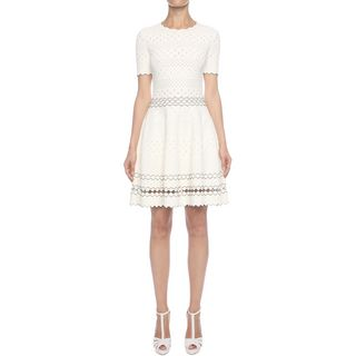 ALEXANDER MCQUEEN, Mini Dress, Full Circle Mini Dress