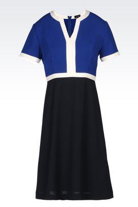 Armani Short Dresses Women twill dress