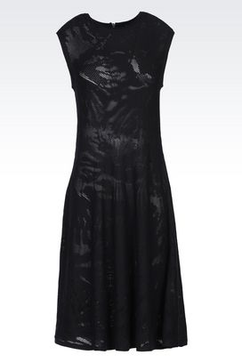 Armani 3/4 Length Dresses Women cotton dress