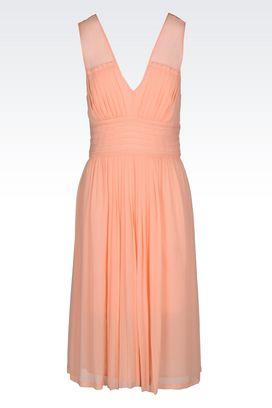 Armani 3/4 Length Dresses Women dress in crêpe