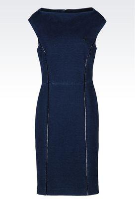 Armani Long-sleeved dresses Women fleece dress