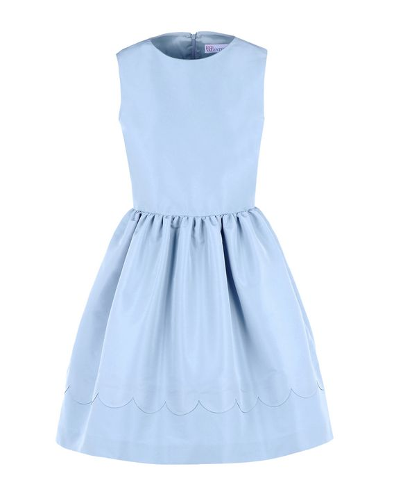 REDValentino Scallop detailed dress