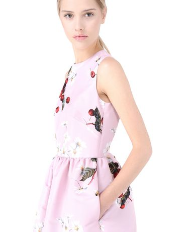 REDValentino KR3VA26024C 159 Printed dress Woman e