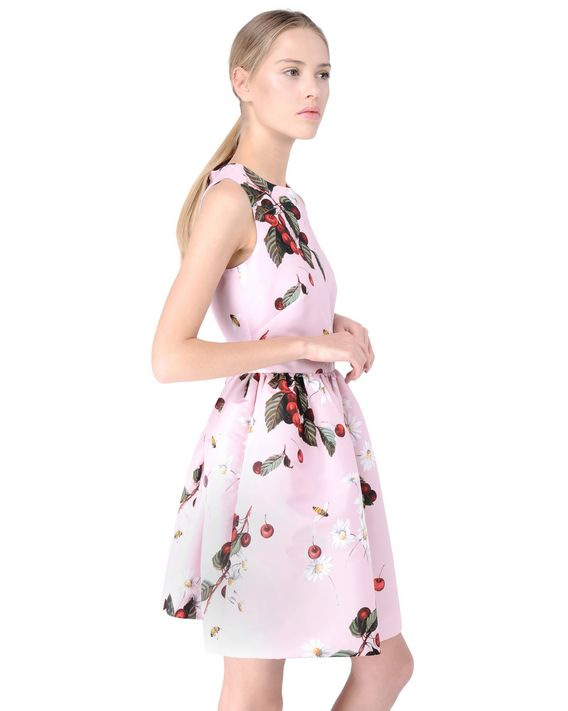 REDValentino KR3VA26024C 159 Printed dress Woman d