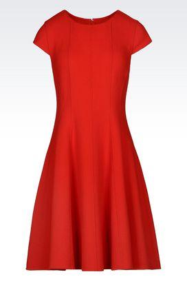 Armani Short Dresses Women dress in crêpe