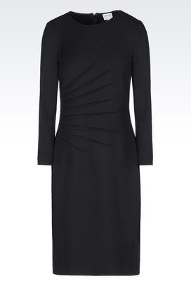 Armani Short Dresses Women dress in milano rib
