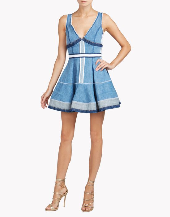 inside out dress dresses Woman Dsquared2