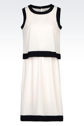 Armani 3/4 Length Dresses Women two-colour dress