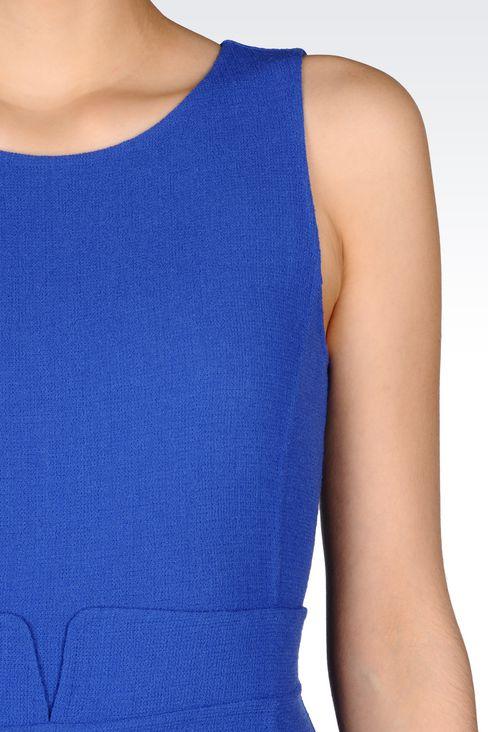 DRESS IN CRÊPE: Short Dresses Women by Armani - 5