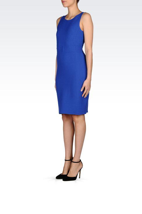 DRESS IN CRÊPE: Short Dresses Women by Armani - 3