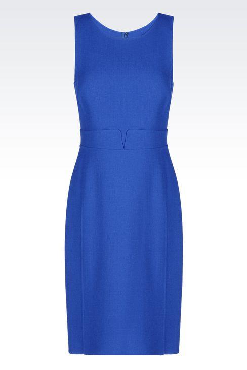 DRESS IN CRÊPE: Short Dresses Women by Armani - 1