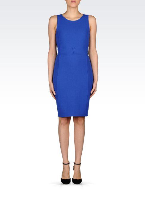 DRESS IN CRÊPE: Short Dresses Women by Armani - 2