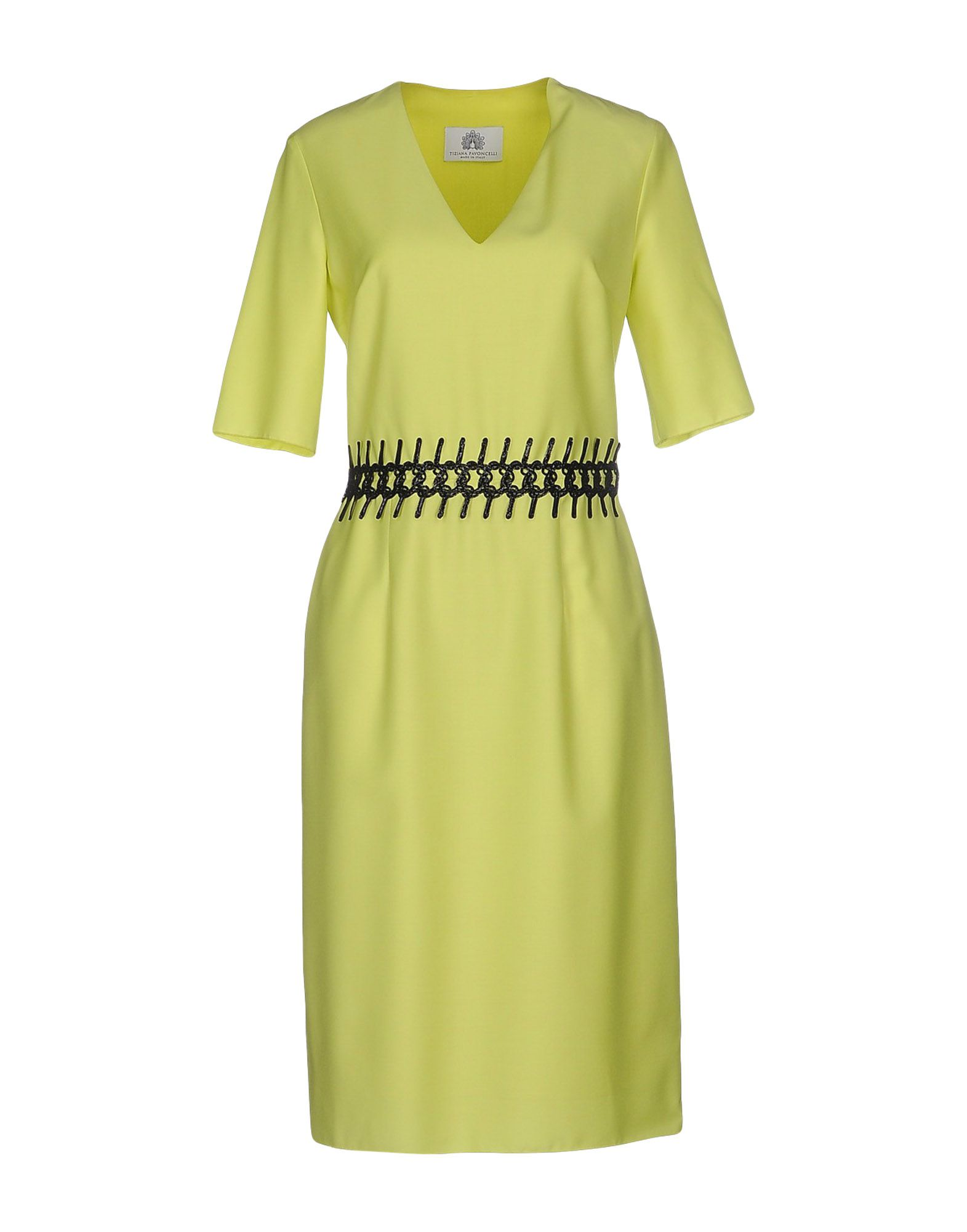 TIZIANA PAVONCELLI Knee-length dresses