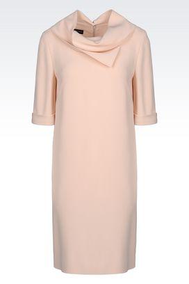 Armani Short Dresses Women dress in cady