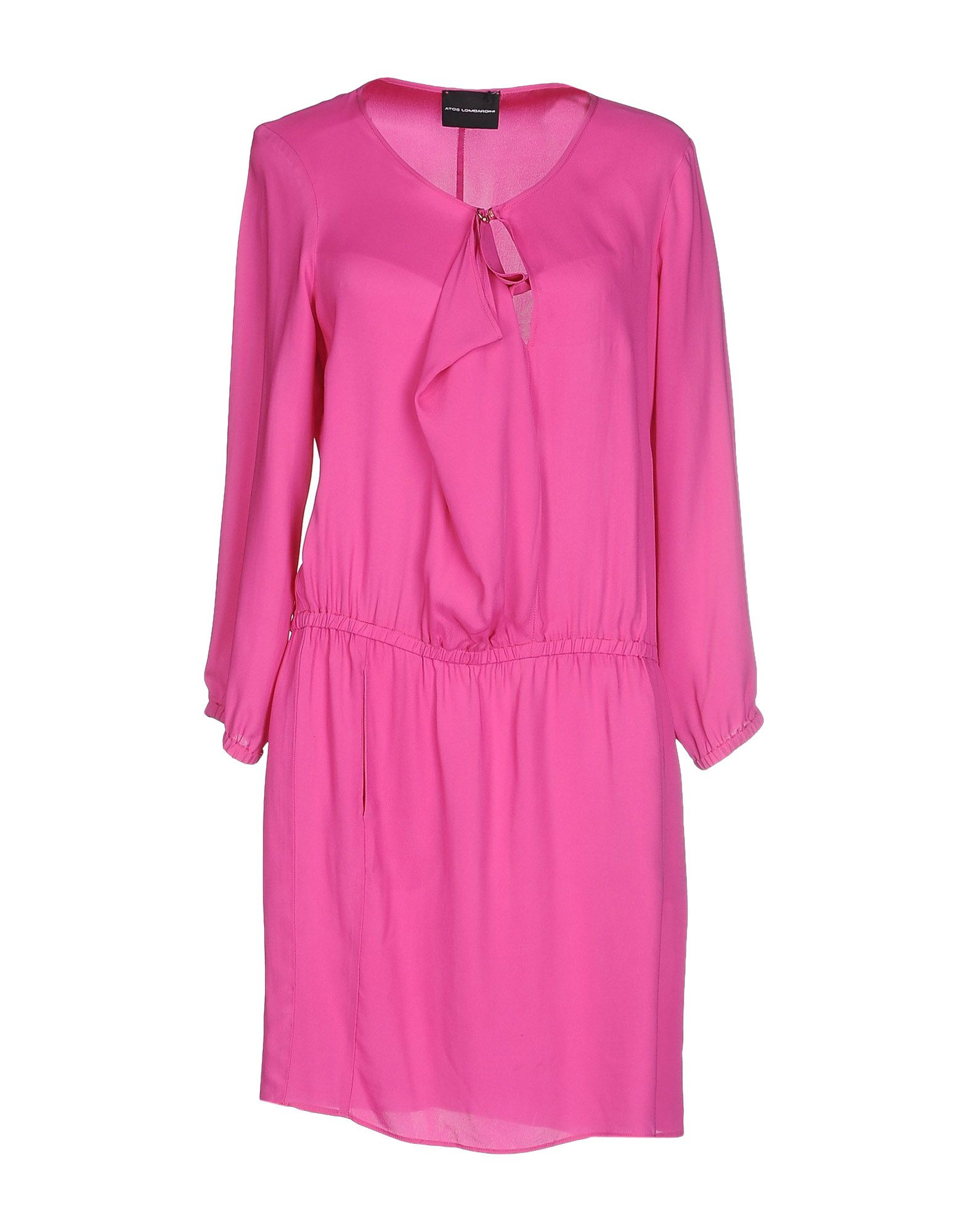ATOS LOMBARDINI Damen Kurzes Kleid Farbe Fuchsia Größe 3