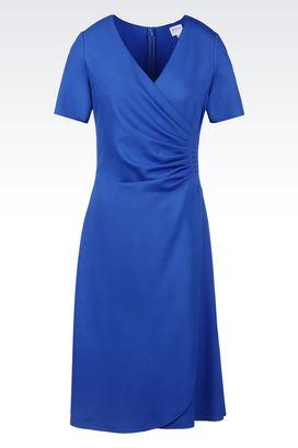Armani Jersey dresses Women dress in milano rib