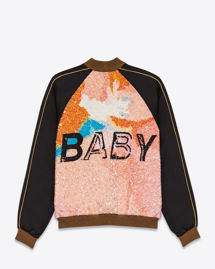 vintage ysl infant coat