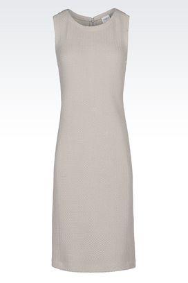 Armani 3/4 Length Dresses Women dress in jacquard