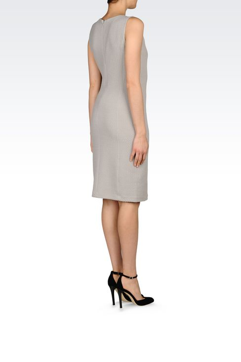 DRESS IN JACQUARD: 3/4 Length Dresses Women by Armani - 4