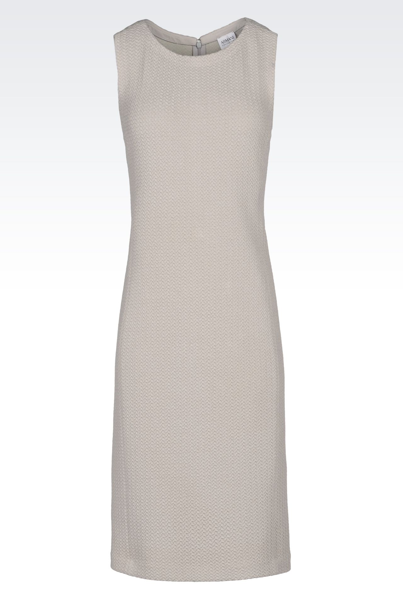 DRESS IN JACQUARD: 3/4 Length Dresses Women by Armani - 0