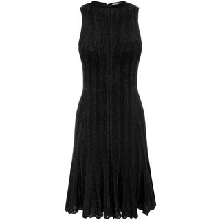ALEXANDER MCQUEEN, Mini Dress, Sleeveless Flute Mini Dress