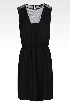 Armani 3/4 Length Dresses Women twill dress