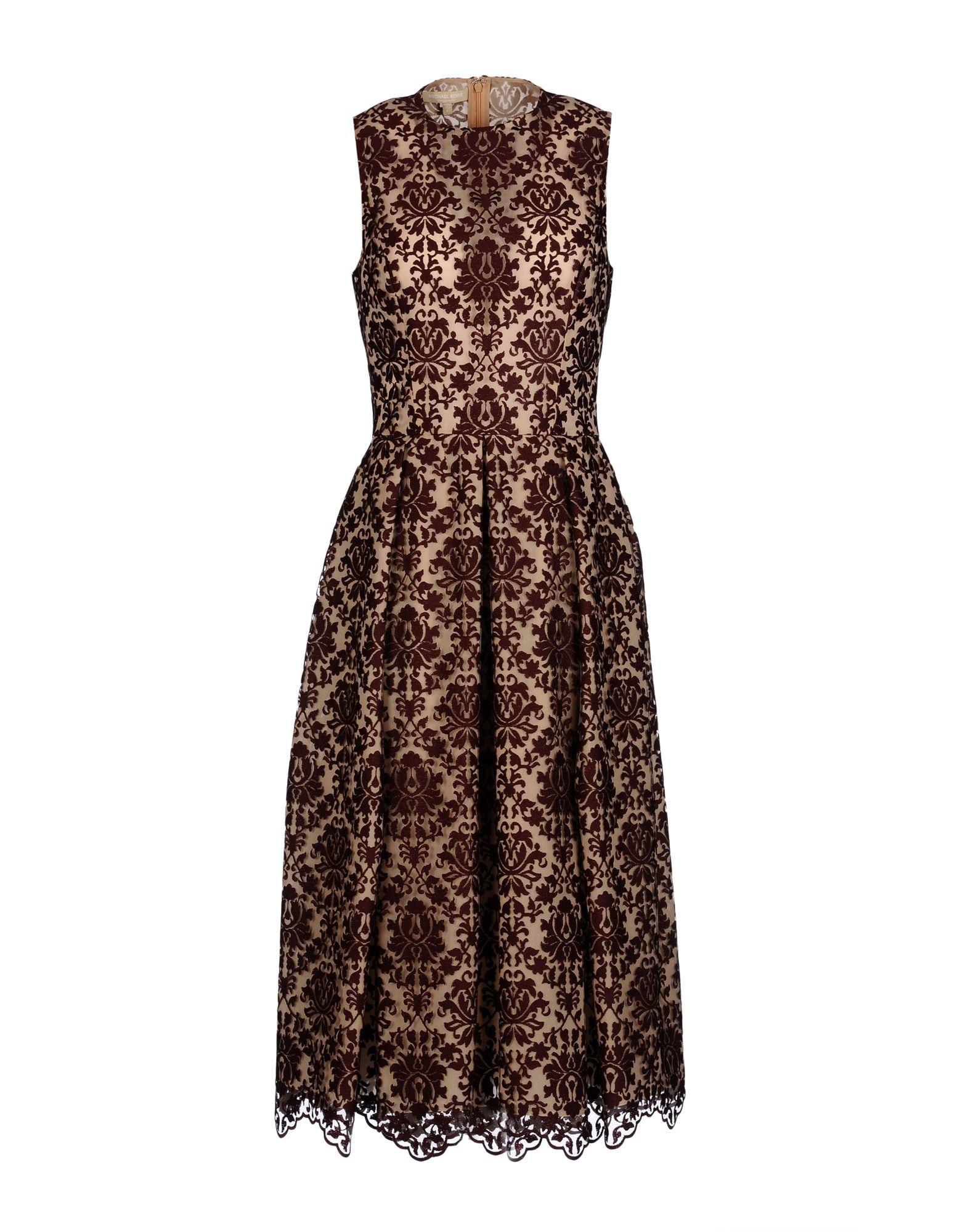 michael kors female michael kors 34 length dresses