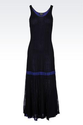 Armani Dresses Women long knit dress