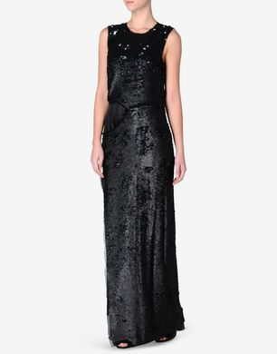 Maison Margiela Full-length sequin dress