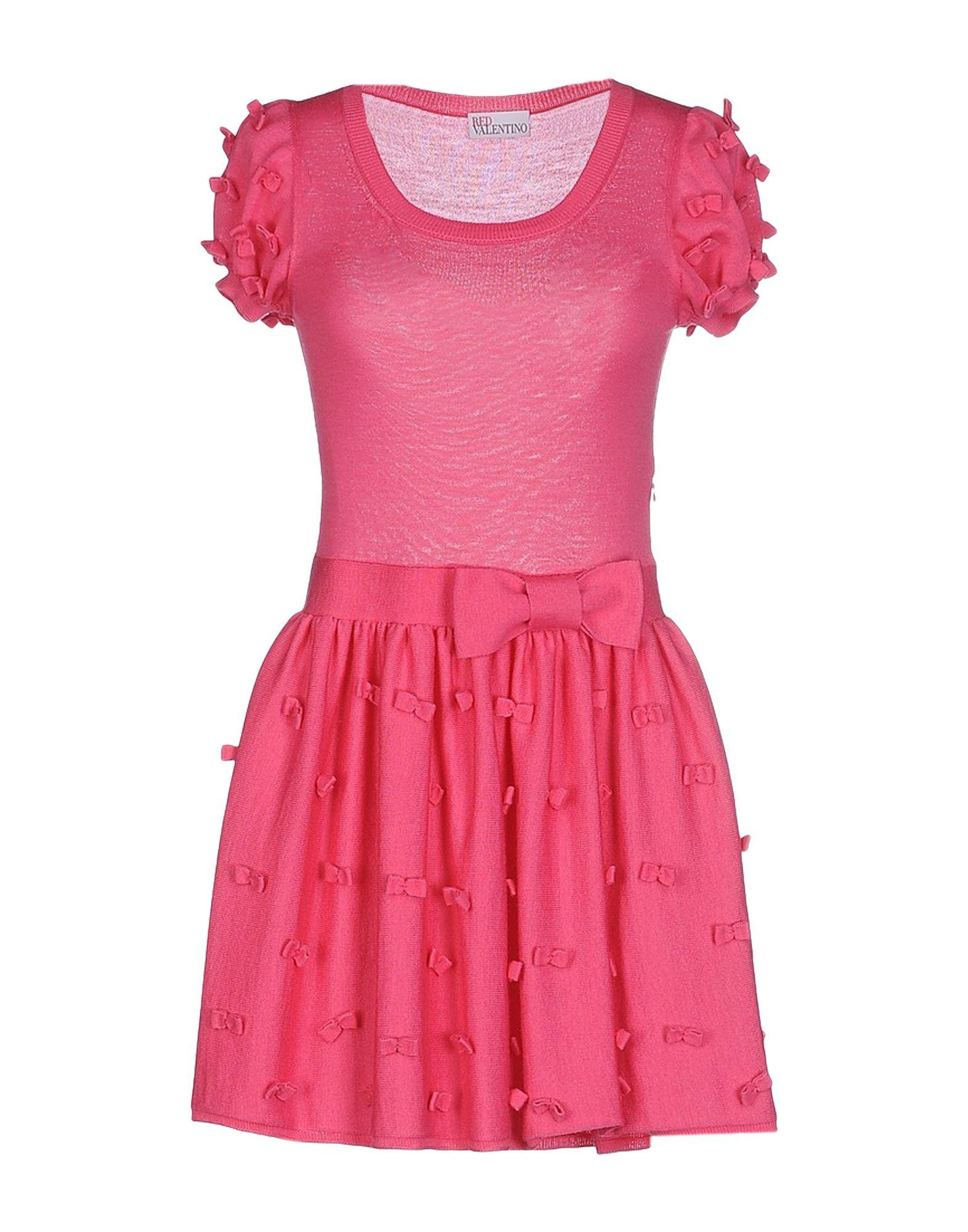 REDVALENTINO Short dresses