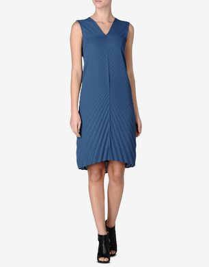Maison Margiela Pleated knee-length dress