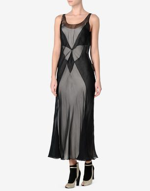 Maison Margiela Silk chiffon midi dress