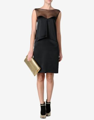 Maison Margiela Sheath dress with tulle detail