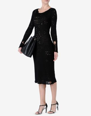 Maison Margiela Japanese silk knit midi dress