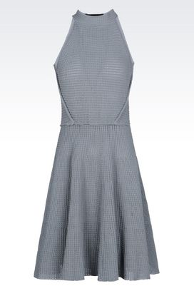 Armani Short Dresses Women knit dress