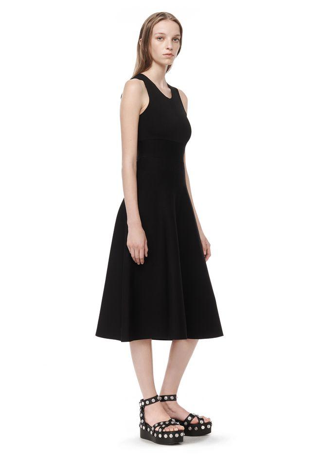 ALEXANDER WANG 3/4 Length dresses Women PEPLUM DRESS WITH BELT DETAIL