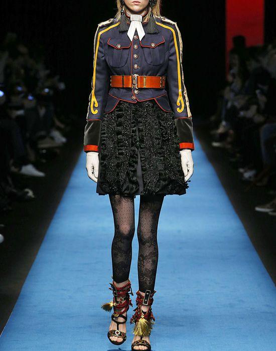 astrakan ruffles dress dresses Woman Dsquared2