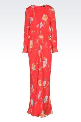 Armani Dresses Women dress in silk georgette