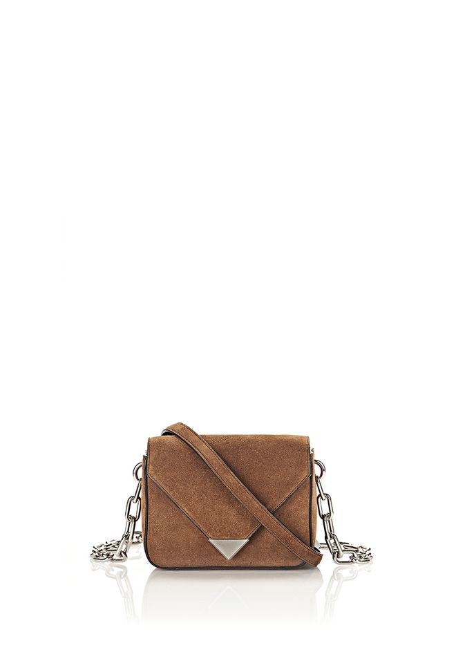 ALEXANDER WANG Shoulder bags MINI PRISMA ENVELOPE SLING WITH CHAIN STRAP